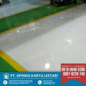 Gallery - PT Apindo Karya Lestari kontraktor epoxy lantai gudang