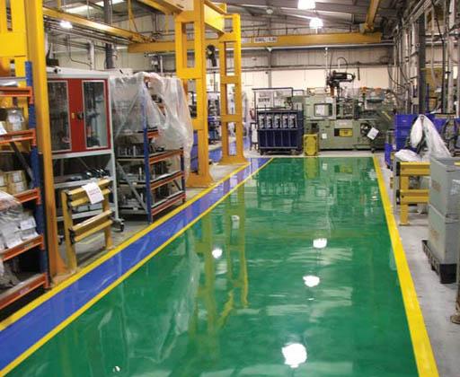 jasa epoxy lantai di jakarta gudang