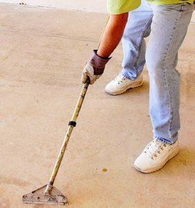 langkah menggunakan epoxy lantai