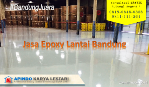 Jasa Epoxy Lantai bandung