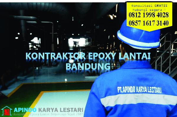kontraktor epoxy lantai bandung | jasa epoxy lantai bandung