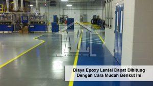 Biaya epoxy lantai