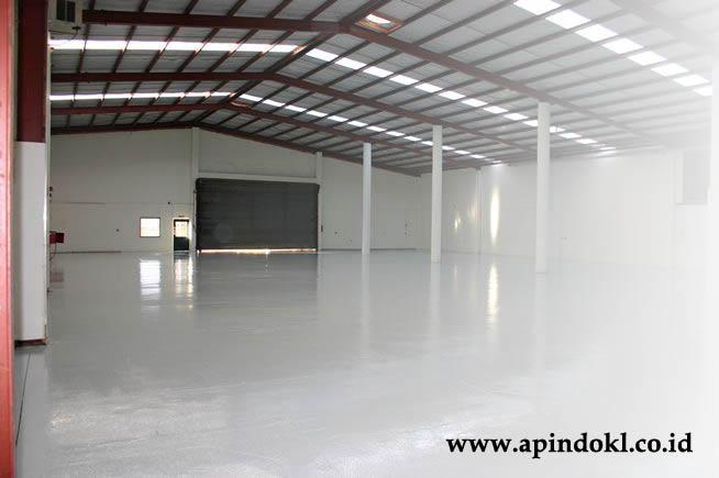 epoxy lantai warehouse