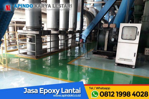 Epoxy Lantai Untuk PLTU (Pembangkit Listrik Tenaga Uap)