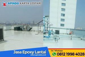 PT Taspen - Jasa Epoxy Lantai 2