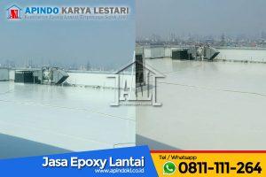 PT Taspen - Jasa Epoxy Lantai 4