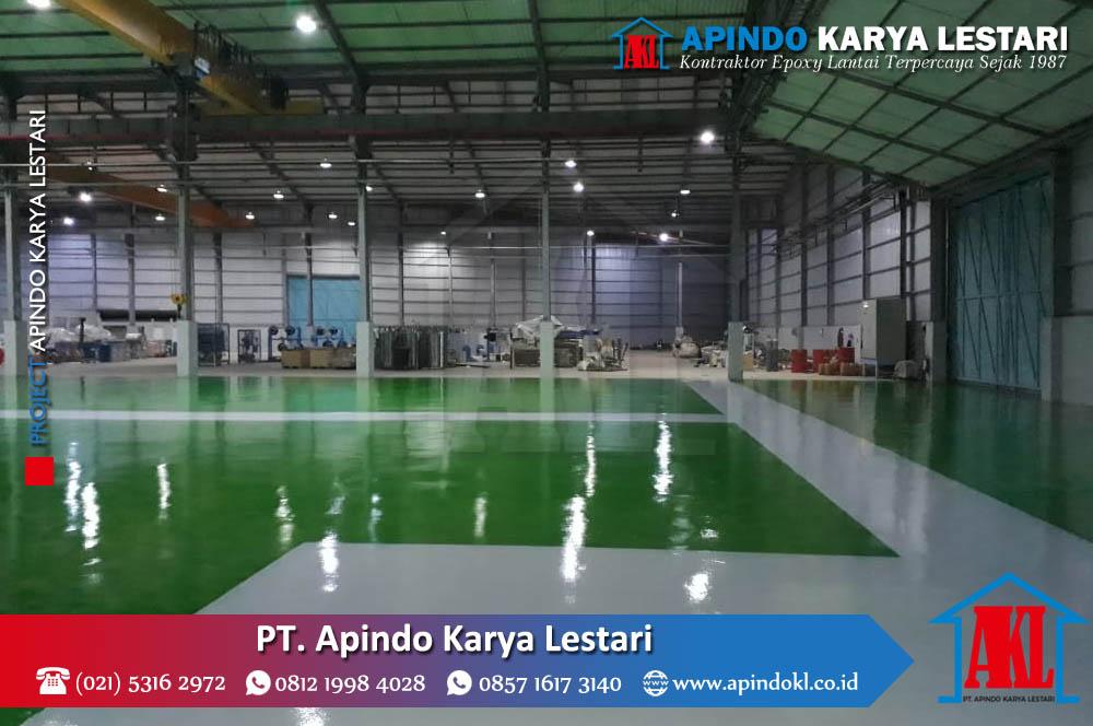 Project Jasa Epoxy Lantai - PT Apindo Karya Lestari - 23