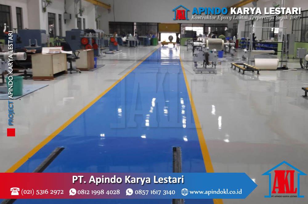 Project Jasa Epoxy Lantai - PT Apindo Karya Lestari - 24