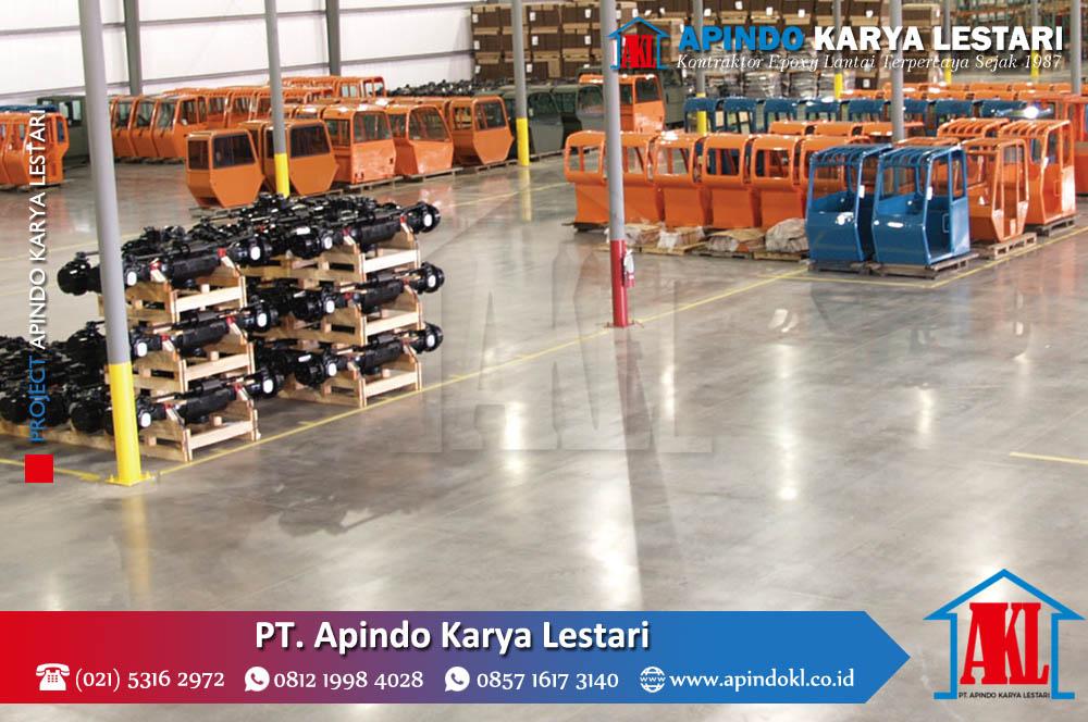 Kontraktor Epoxy Lantai Kabupaten Magelang