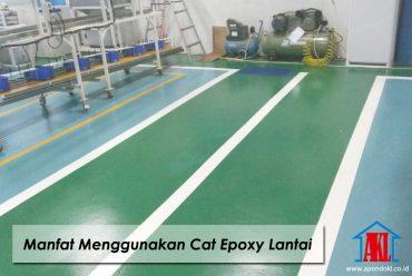 Manfaat Menggunakan Cat Epoxy Lantai