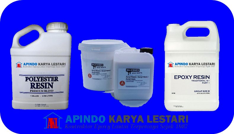 Perbedaan Polyester, Acrylic dan Epoxy Resin